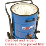 Certified and large L Class surface pocket filter